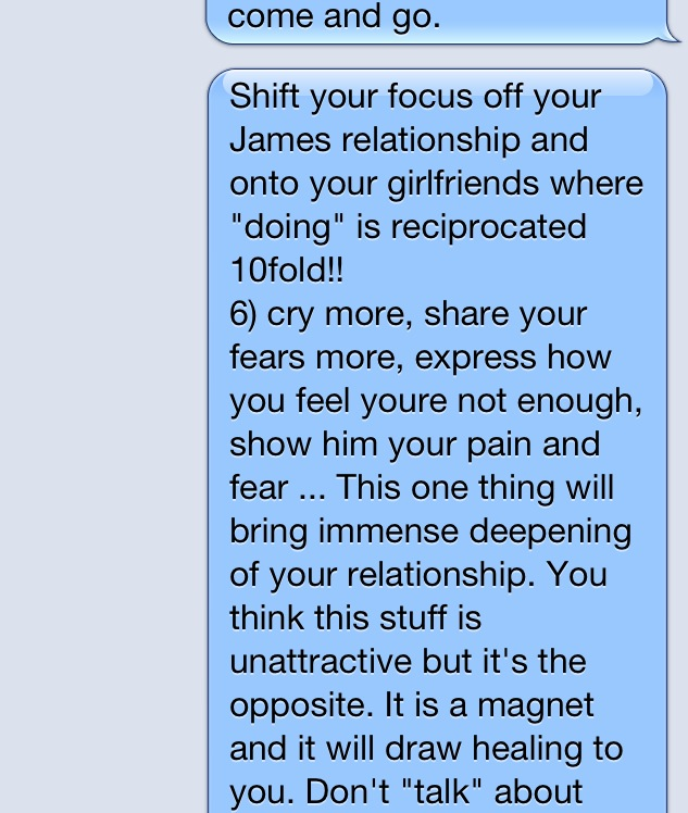 A Text I Wrote To Girlfriend